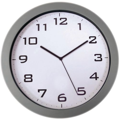 Coloured wall clock - 380mm