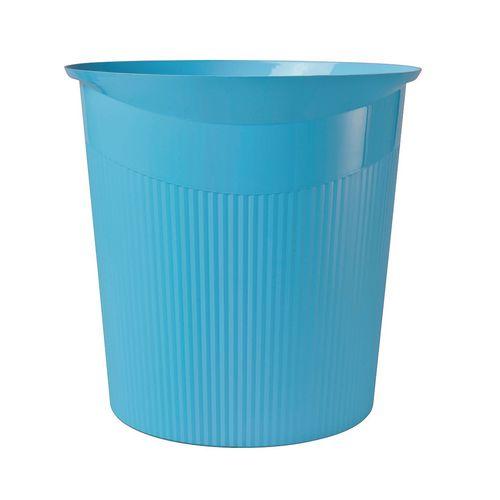 Heavy duty 13L plastic office waste bin