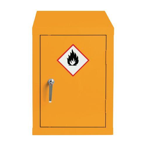 Premium hazardous substance storage cabinets