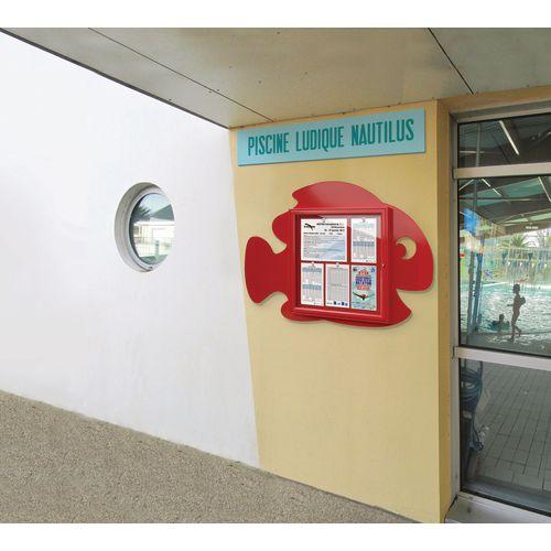 Indoor/outdoor school noticeboards
