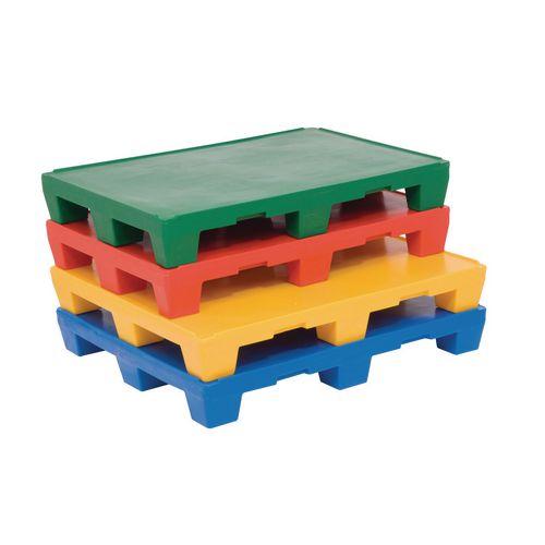 Coloured polythene UK pallets - 1200 x 1000mm