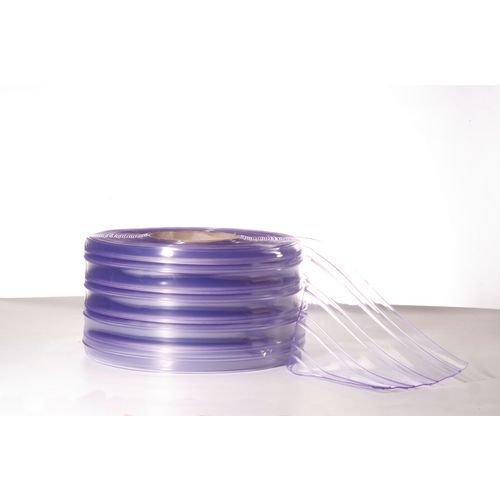 Replacement PVC ribbed strip curtain rolls