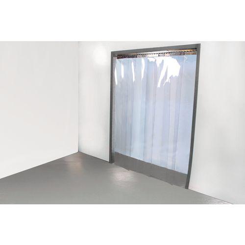 Internal PVC strip curtain doors