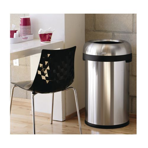 Simplehuman large bullet open top rubbish bin