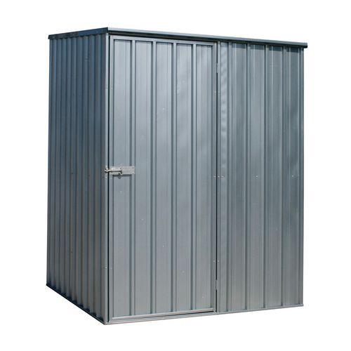 Galvanised steel shed - Medium