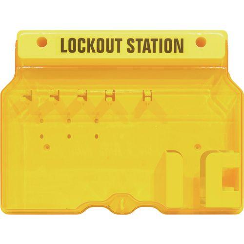 Premium lockout station