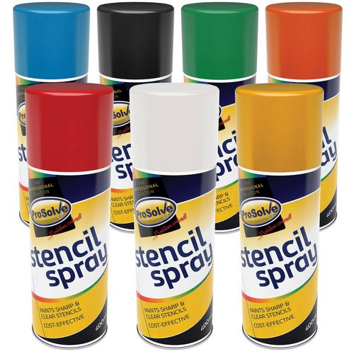 Prosolve stencil spray paint