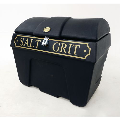 Victoriana salt and grit bins - Without hopper feed, with hasp and staple