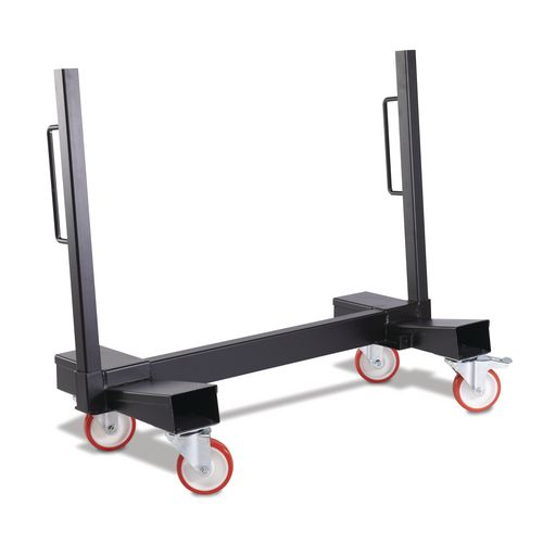 Mobile sheet carrier trolleys