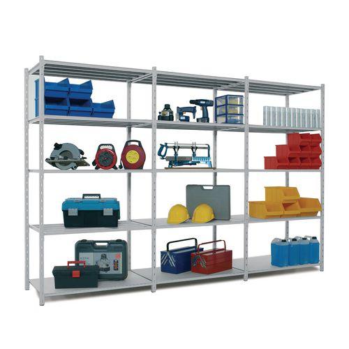 Light tubular shelving - extra shelves with covers