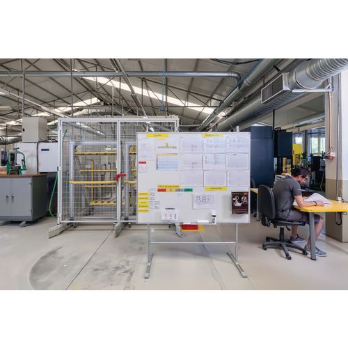 Information Whiteboard - Aluminium stand only