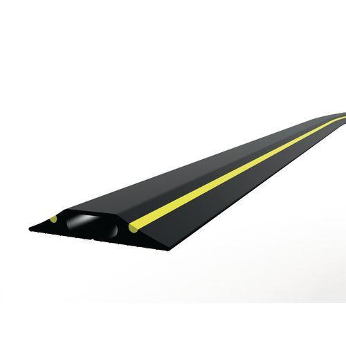 Single bore general purpose PVC cable protectors
