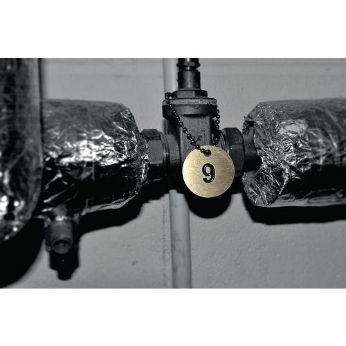 Valve tags - Brass tags