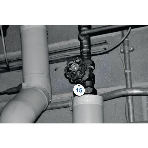 27mm Traffolyte valve marking tags