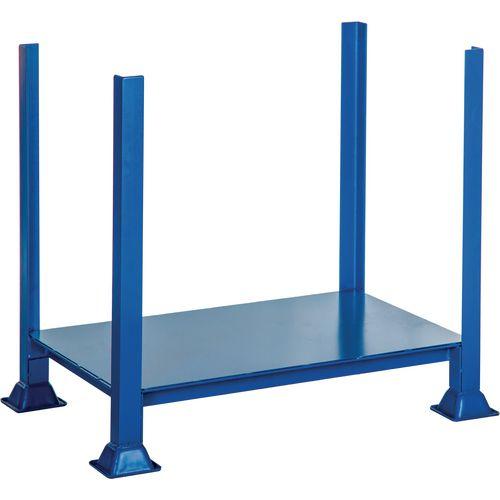 Steel pallet posts, 500kg capacity