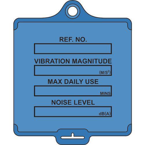 Medium asset tags - Vibration control