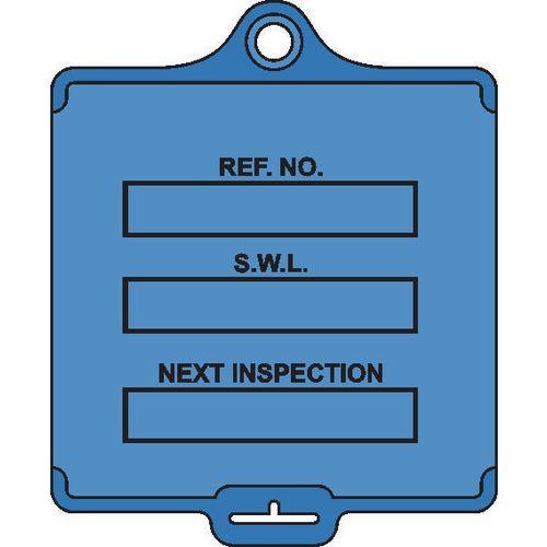 Medium asset tags - Safe working load