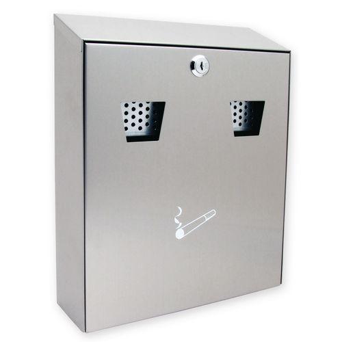 Wall mounted ash bins