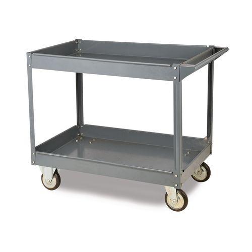 Steel shelf trolleys