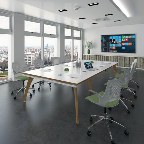 Contemporary meeting tables