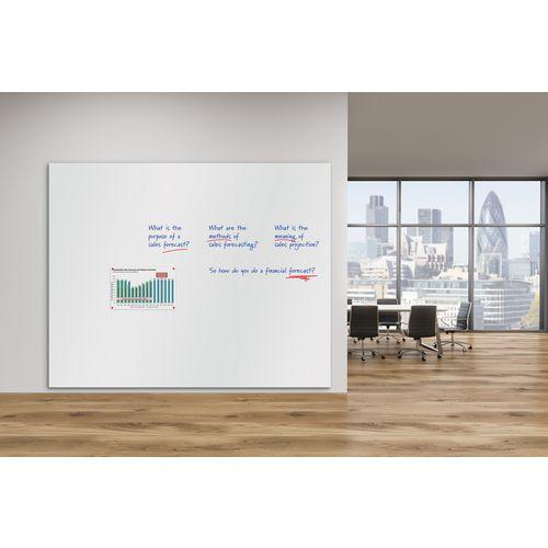 WriteOn® Frameless magnetic whiteboards