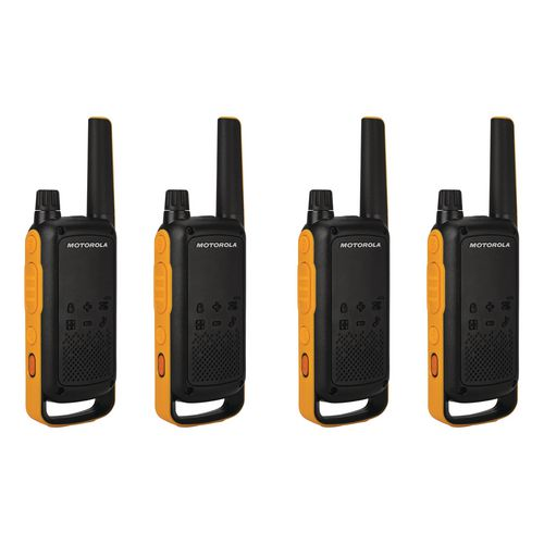 Weatherproof two way walkie talkie and charger
