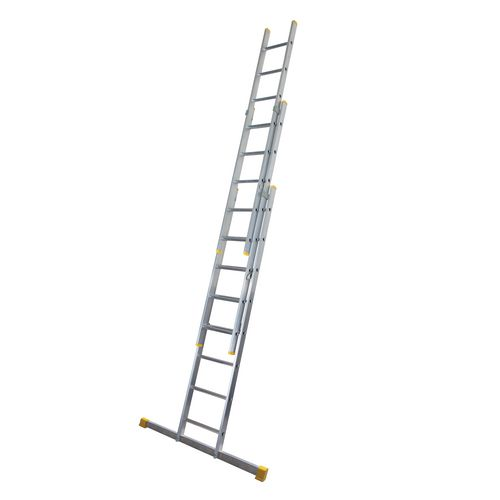 Comfort rung ladders - Three section