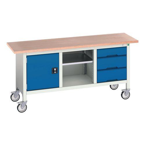 Bott Verso storage workbenches, mobile