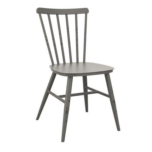 Aluminium retro side chair