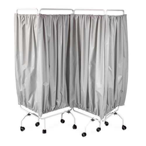 Folding curtain screen