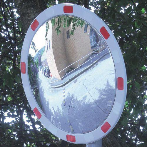 Reflective outdoor traffic mirror - Circular