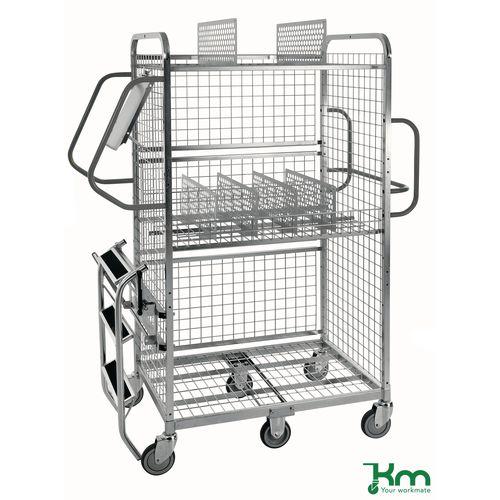 Konga medium duty picking trolley - accessories
