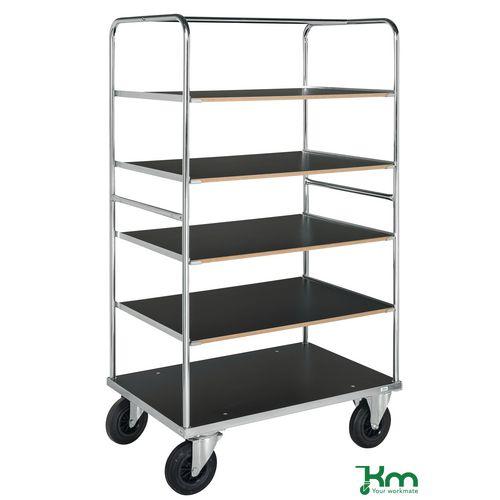 Konga heavy duty shelf trolley