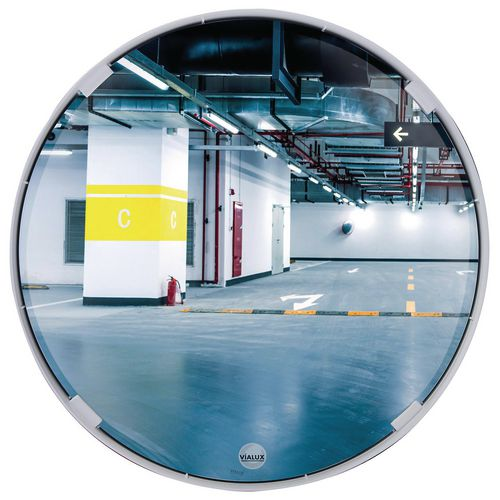 Multi-purpose convex mirrors
