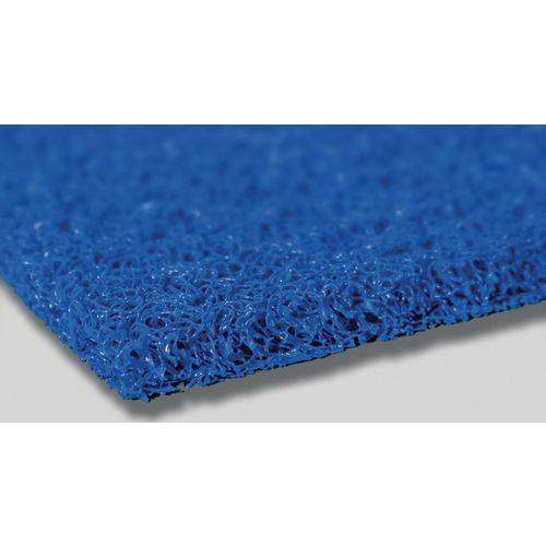 Vinyl loop slip wet area matting