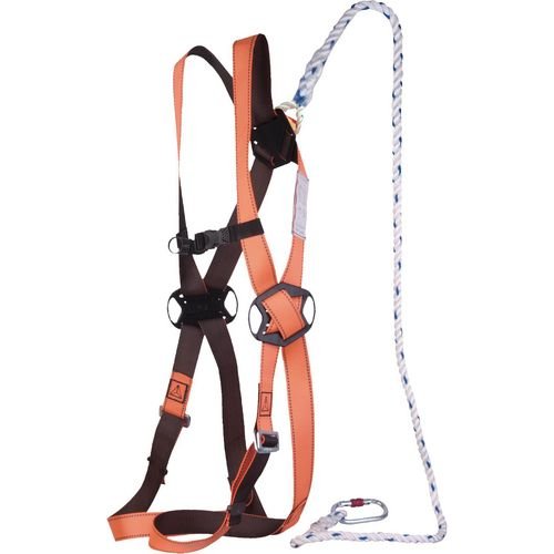 Ready to use working at height restraint kit