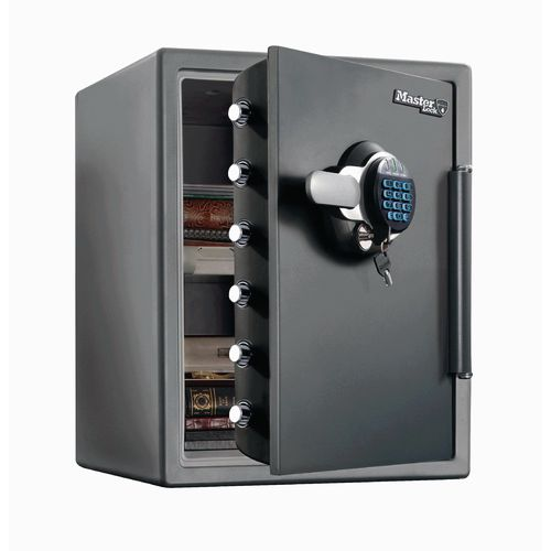 Fire and water resistant safes