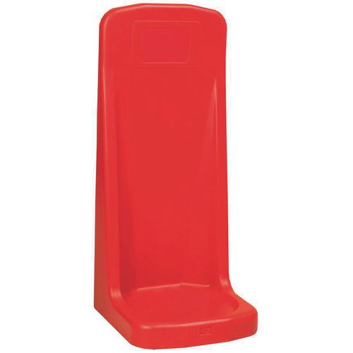 Plastic fire extinguisher stands