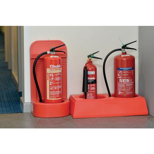 Deep mould fire extinguisher stands