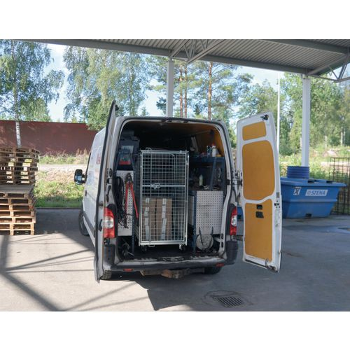 Van height security roll containers