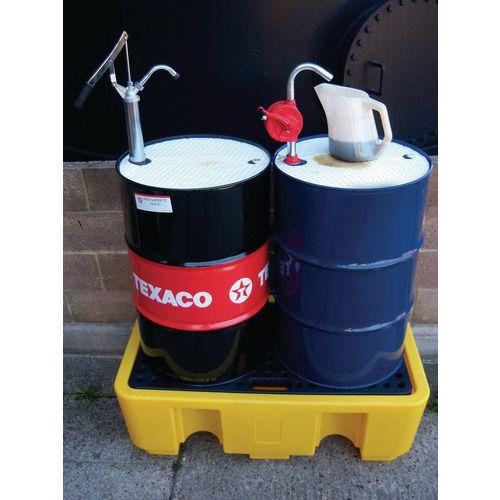 Oil drum topper