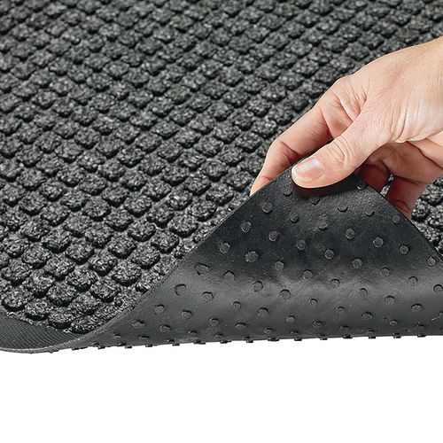 Infection control waffle entrance mats