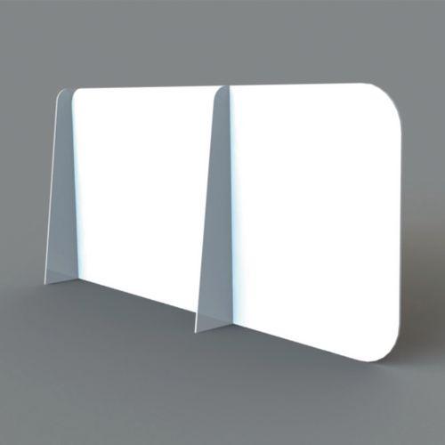 Foam and PVC desk dividing screens
