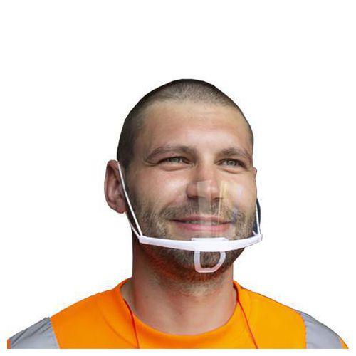 Transparent mouth shield