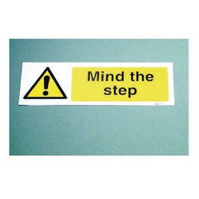 Floor signs - Mind the step