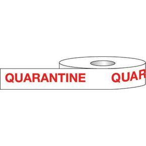 Information tapes - Quarantine