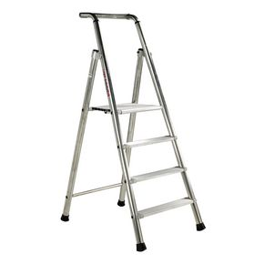 Extra heavy duty aluminium step ladders
