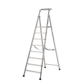Extra heavy duty aluminium step ladders