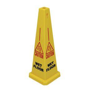 Tall wet floor cone - wet floor