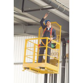 Heavy duty access safety platform
